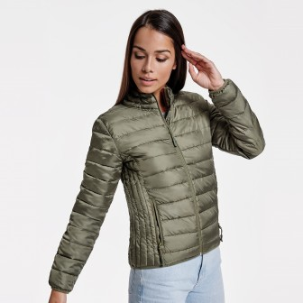 CHAQUETA MUJER ACOLCHADA TACTO PLUMA FINLAND WOMAN 5095 ROLY